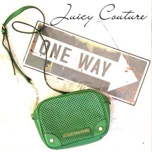 **NWT** Juicy Couture Green Leather Shoulder Bag